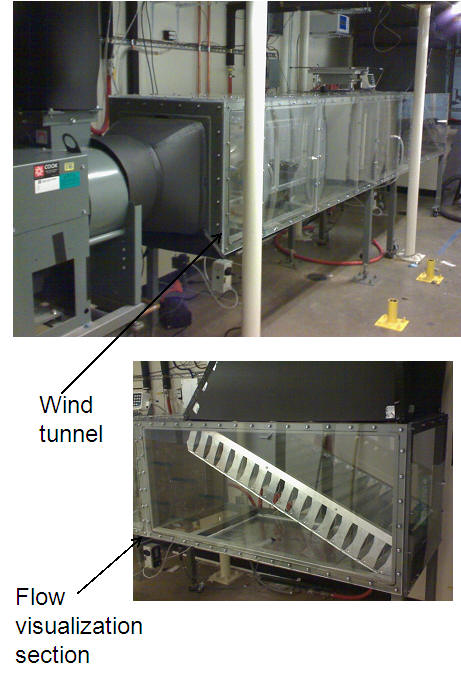 Air Flow Wind Tunnel Building Amp Environmental Thermal